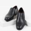 Класически мъжки обувки в черен цвят-04447-6