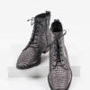 Ежединевни дамски боти в сив цвят-24936-1