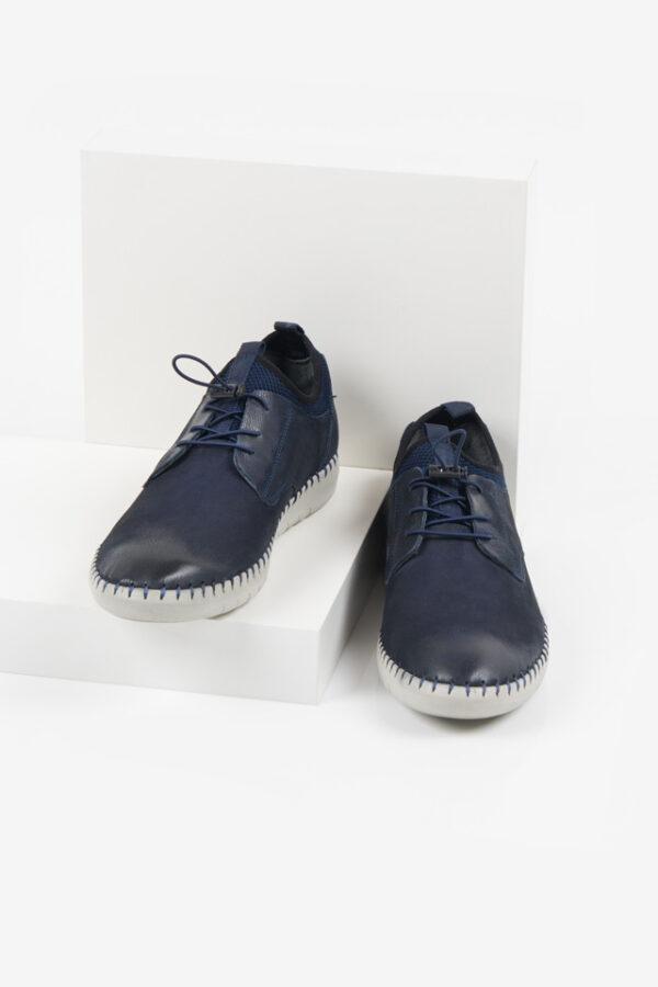 Мъжки обувки в син цвят-281007