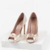 Елегантни дамски обувки в бежов цвят-483076