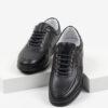 Мъжки обувки в черен цвят-0430135