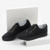 Ежединевни мъжки обувки в черен цвят-0430152