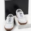 Ежединевни мъжки обувки в бял цвят-281015
