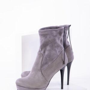 Дамски боти в сив цвят-350414
