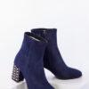 Елегантни дамски боти в син цвят-240488-1