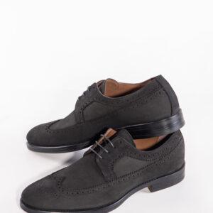 Мъжки обувки в черен цвят-0415548