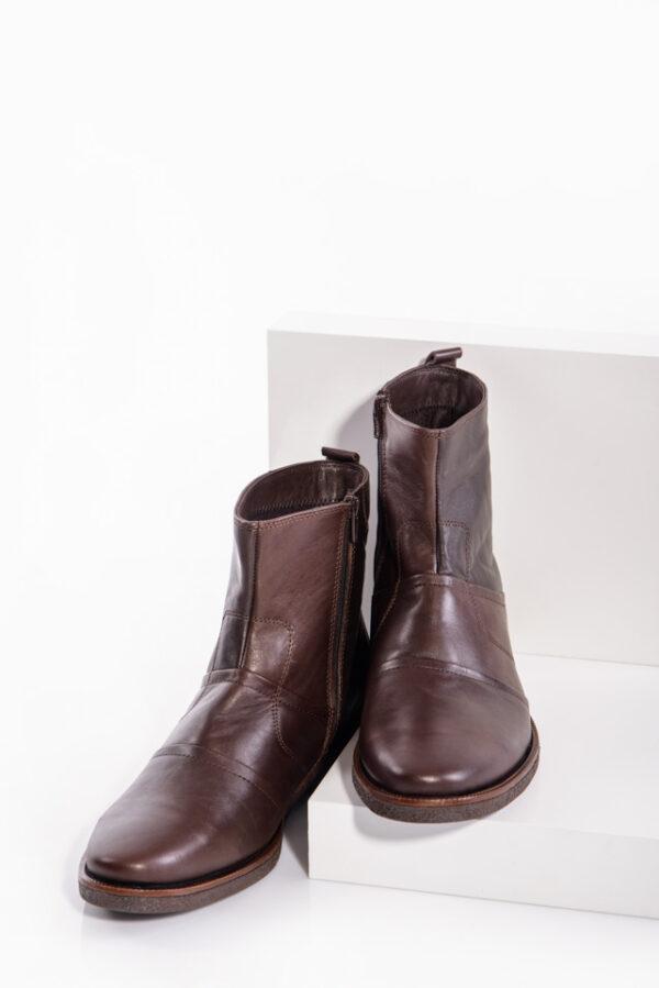 Кафяви мъжки боти-0414471