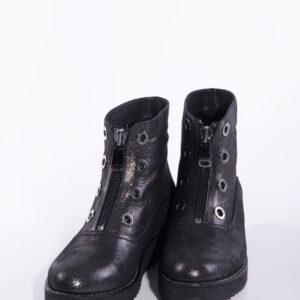 Ежединевни дамски боти в черен цвят-141108