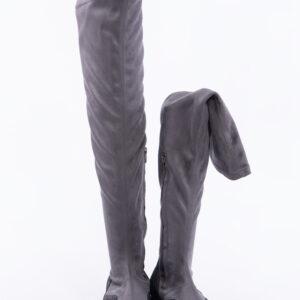Спортни дамски ботуши в сив цвят-141113