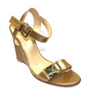 Карамелени дамски сандали-59597-1