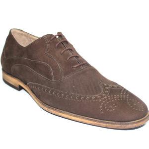 Кафяви мъжки обувки-403528