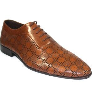 Кафяви елегантни обувки-403776